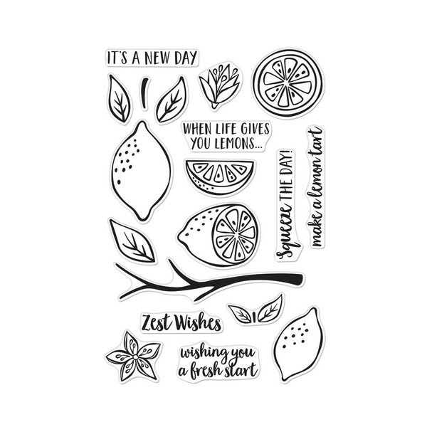 Zest Wishes, Hero Arts Clear Stamps - 085700924900