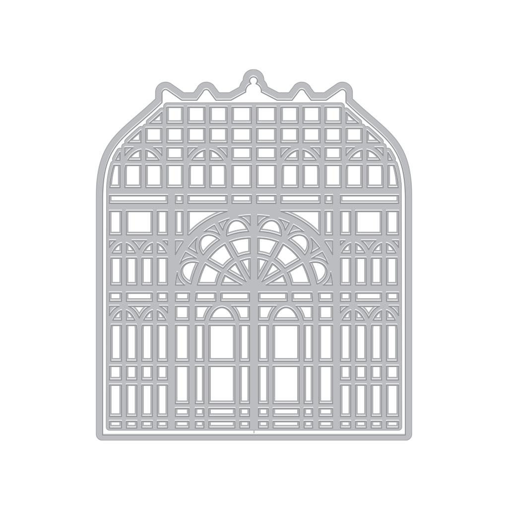 Victorian Greenhouse with Frame, Hero Arts Dies - 085700924627