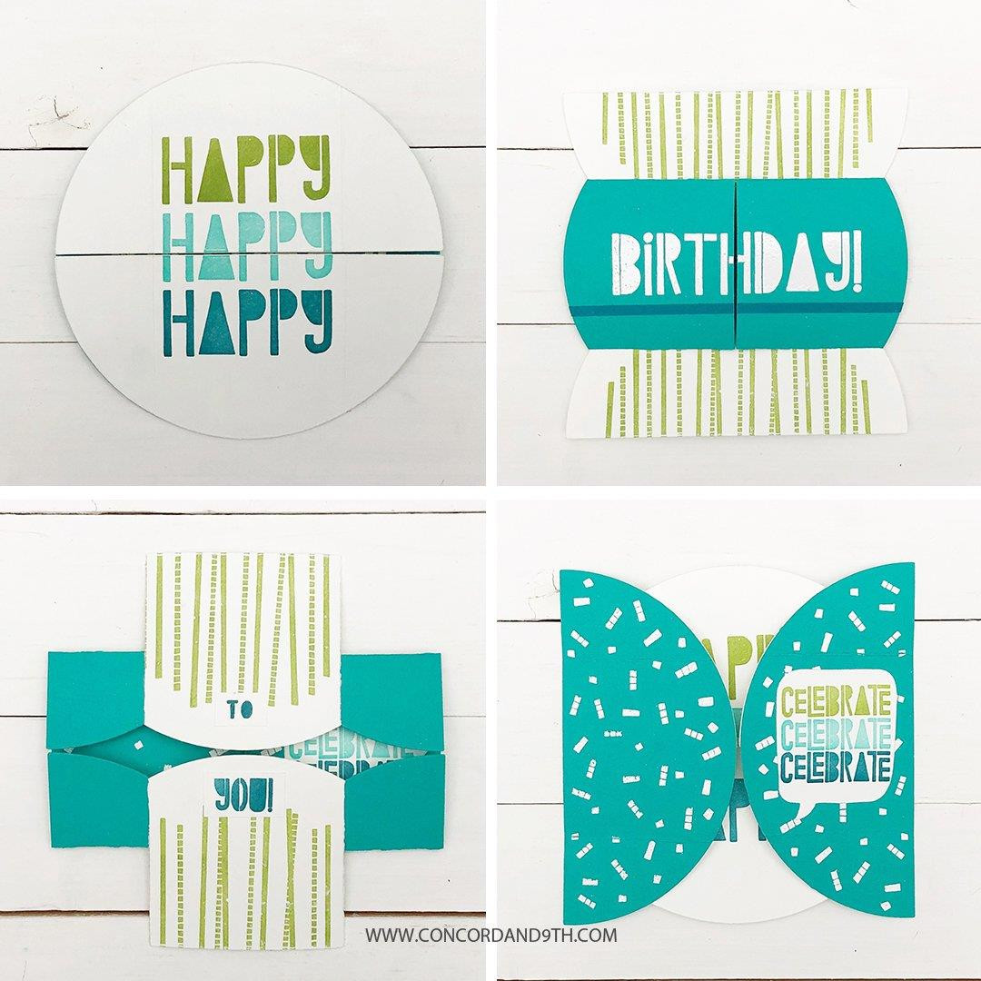 Endless Birthday, Concord & 9th Clear Stamps - 090222401280
