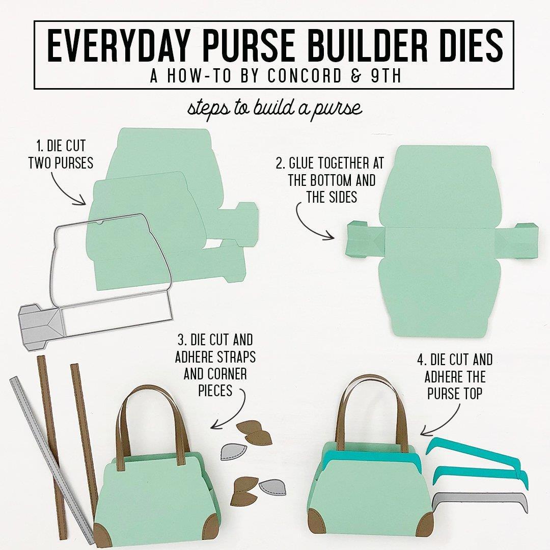 Everyday Purse Builder, Concord & 9th Dies - 090222401310
