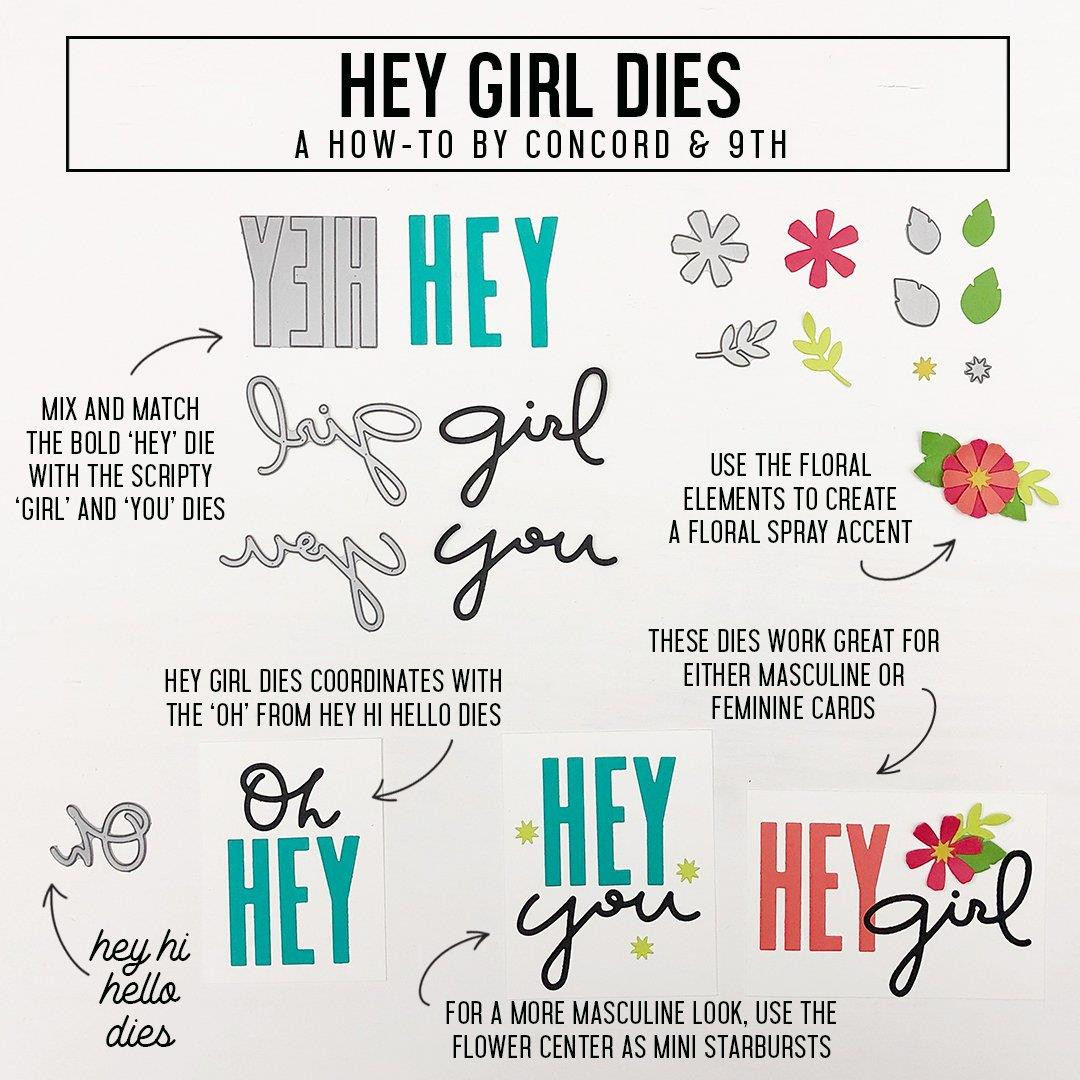 Hey Girl, Concord & 9th Dies - 090222401327