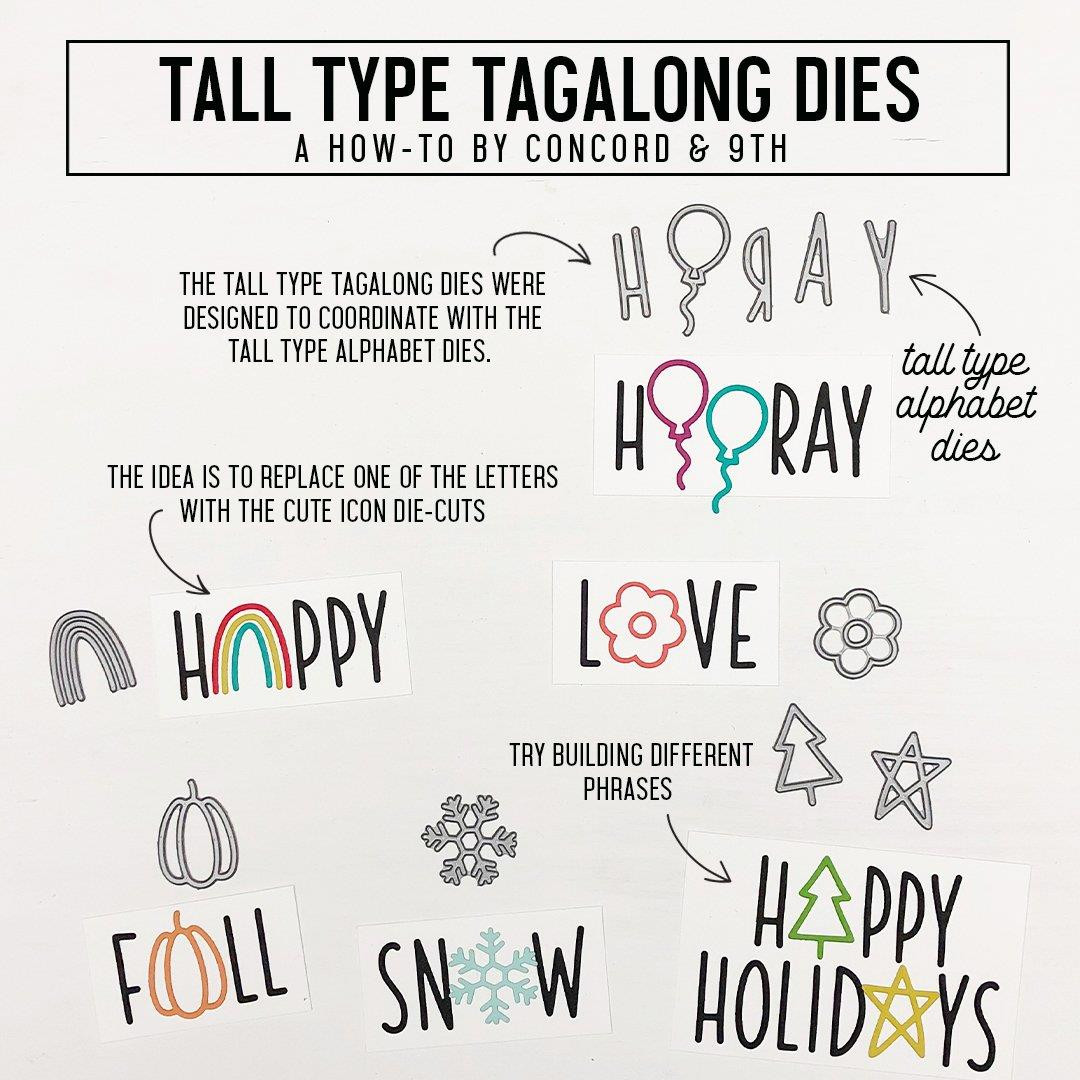 Tall Type Tagalong, Concord & 9th Dies - 090222401365
