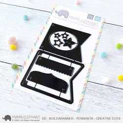 Build A Banner - Pennants, Mama Elephant Creative Cuts -
