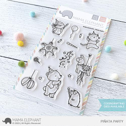 Pinata Party, Mama Elephant Clear Stamps -