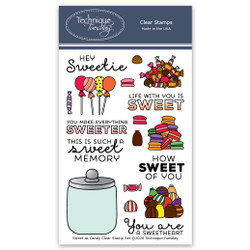 Sweet As Candy, Technique Tuesday Clear Stamps - 811784026632