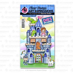 Castle Cubbies, Art Impressions Clear Stamps - 750810796746