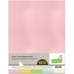 (PREORDER) Shimmer Cardstock - Pastel, Lawn Fawn Cardstock - 035292674257