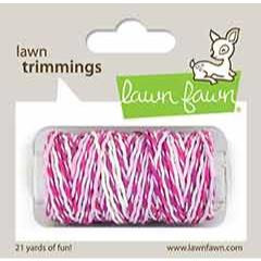 (PREORDER) Pretty in Pink Sparkle, Lawn Fawn Hemp Cord - 035292674318