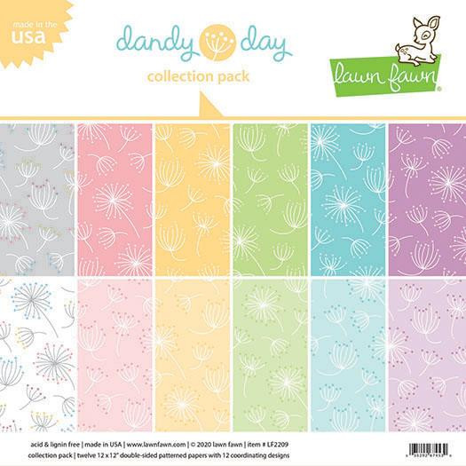 (PREORDER) Dandy Day, Lawn Fawn Collection Pack - 035292674530