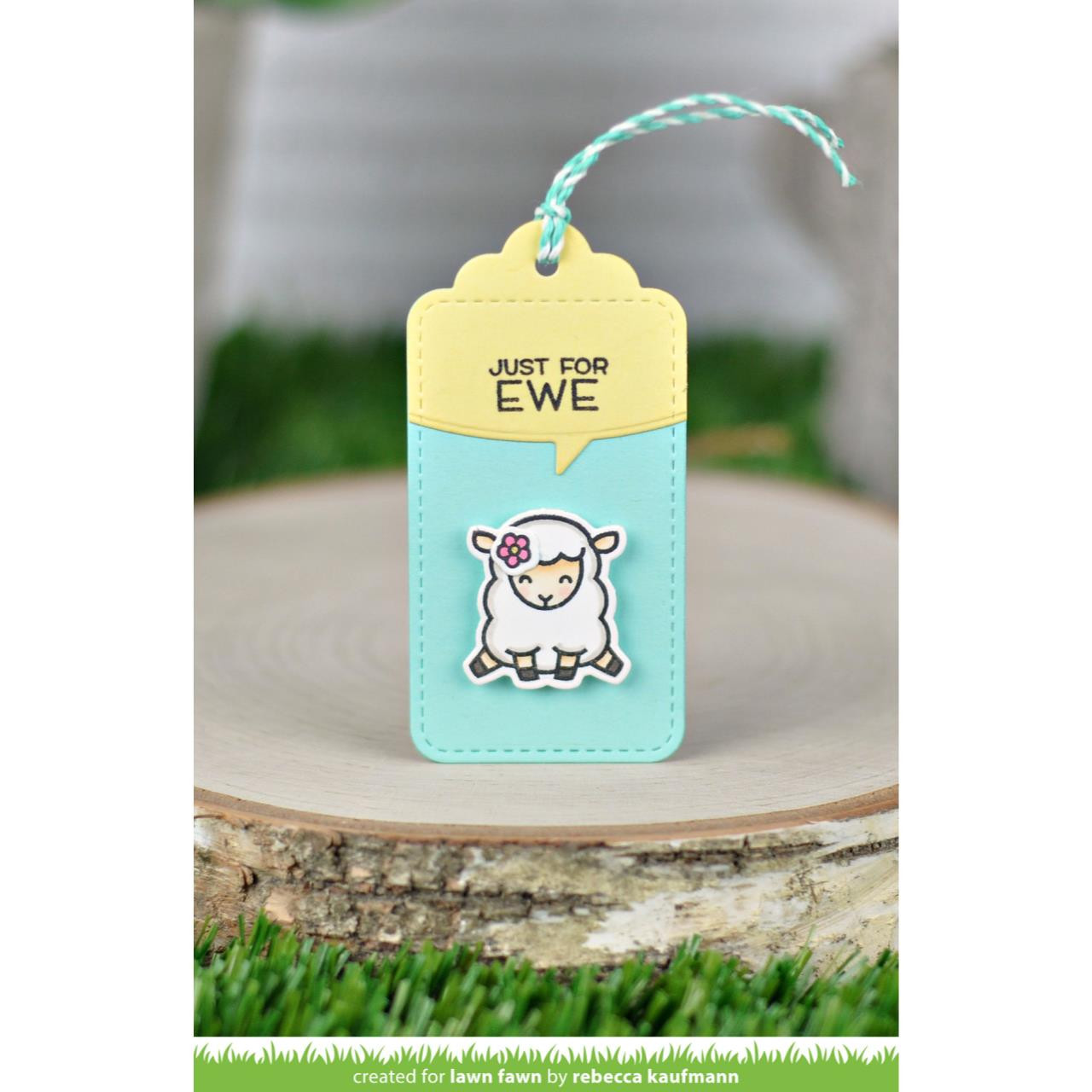 (PREORDER) Say What? Spring Critters, Lawn Fawn Clear Stamps - 035292674677