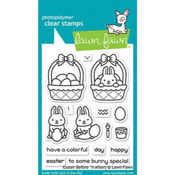 (PREORDER) Easter Before 'n Afters, Lawn Fawn Clear Stamps - 035292674691