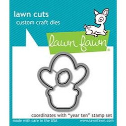 (PREORDER) Year Ten, Lawn Cuts Dies - 035292674769