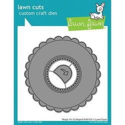 (PREORDER) Magic Iris Scalloped Add-On, Lawn Cuts Dies - 035292674790