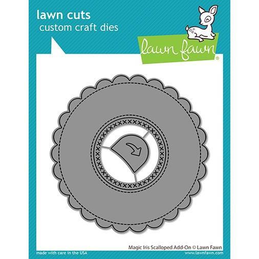 (PREORDER) Magic Iris Scalloped Add-On, Lawn Cuts Dies - 035292674790