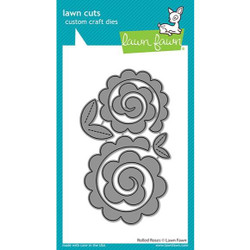 Rolled Roses, Lawn Cuts Dies - 035292674981