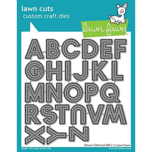 (PREORDER) Oliver's Stitched ABCs, Lawn Cuts Dies - 035292675001