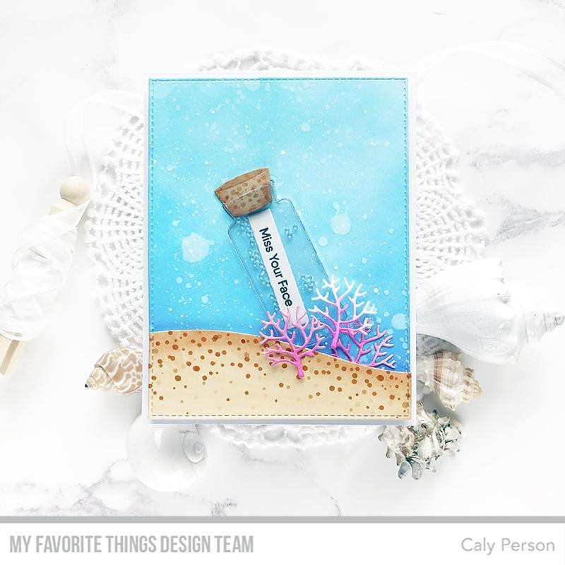 Message in a Bottle, My Favorite Things Shaker Pouches - 849923034323