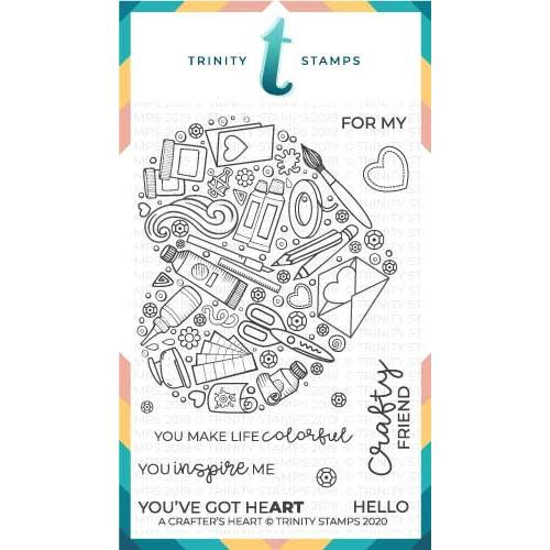 A Crafter's Heart, Trinity Stamps Clear Stamps -