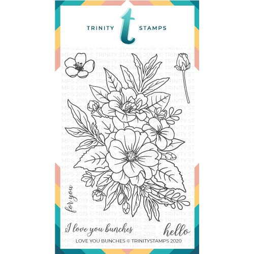 Love You Bunches, Trinity Stamps Clear Stamps -