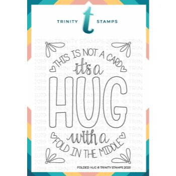 Folded Hug, Trinity Stamps Clear Stamps -