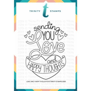 Love & Happy Thoughts, Trinity Stamps Clear Stamps -