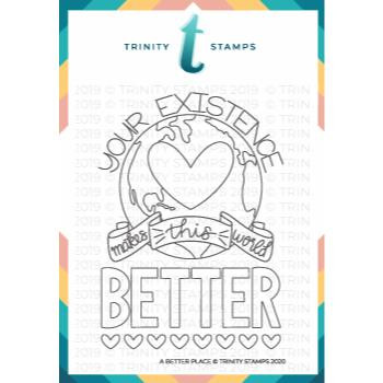 A Better Place, Trinity Stamps Clear Stamps -