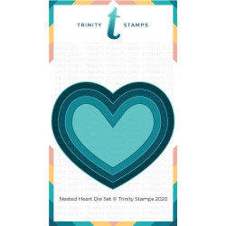Nested Hearts, Trinity Stamps Dies -