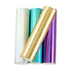 Spellbound Variety Pack Glimmer Set of 4, Spellbinders Hot Foil Rolls - 813233046314