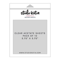 Acetate Sheets - 10 pk, Studio Katia - 013415373607