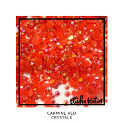 Carmine Red, Studio Katia Crystals -