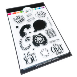 Call Me, Catherine Pooler Clear Stamps - 819447023653