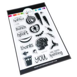 Veggies, Please!, Catherine Pooler Clear Stamps - 819447024643