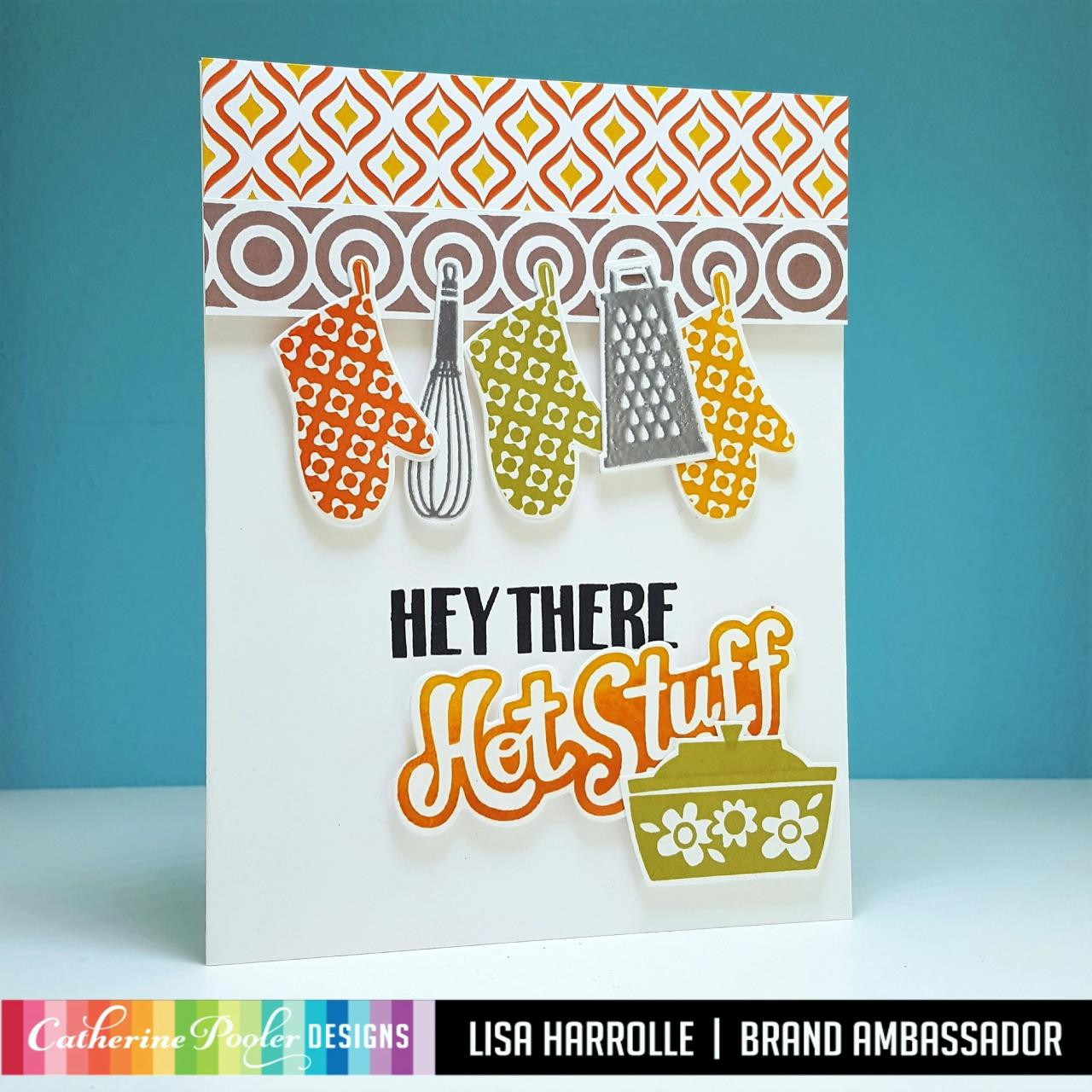 Potluck Party, Catherine Pooler Patterned Paper - 819447026562