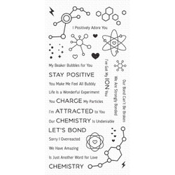 Undeniable Chemistry, My Favorite Things Clear Stamps - 849923032985