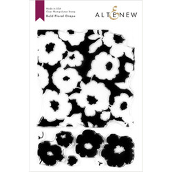 Bold Floral Drape, Altenew Clear Stamps - 737787258385