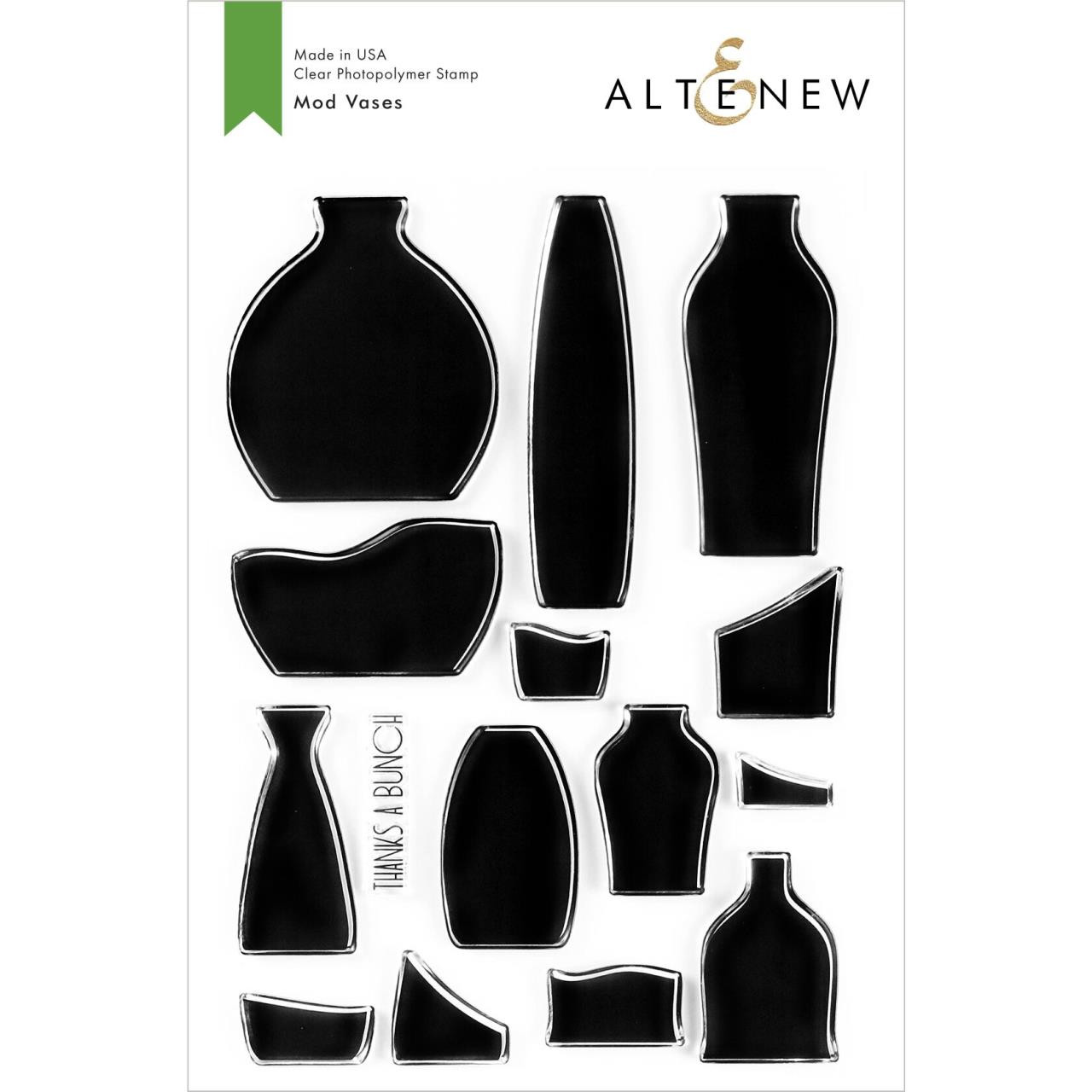 Mod Vases, Altenew Clear Stamps - 737787258491