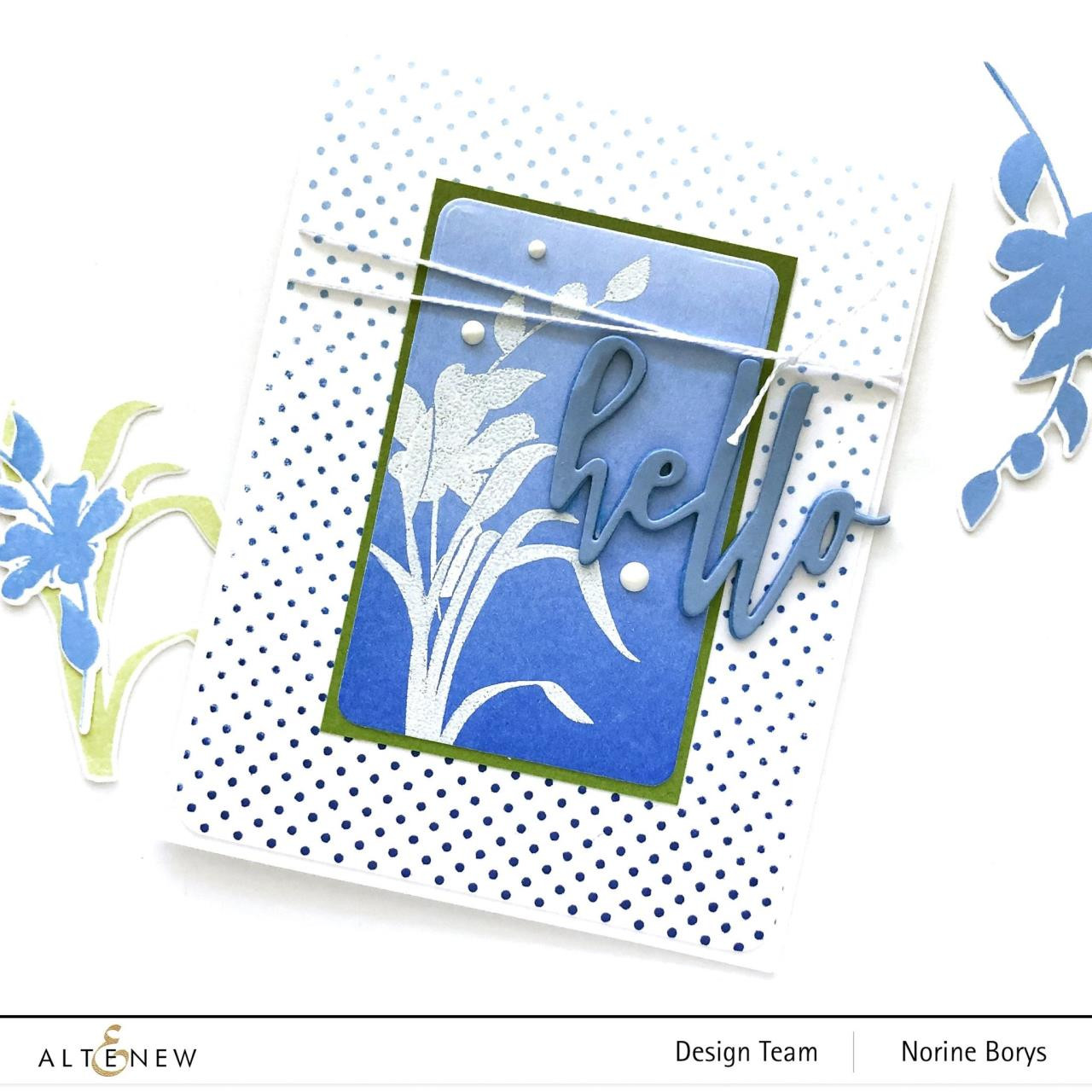 Vase Fillers, Altenew Clear Stamps - 737787258613