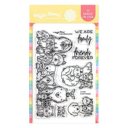Puppy Power, Waffle Flower Clear Stamps - 644216791590