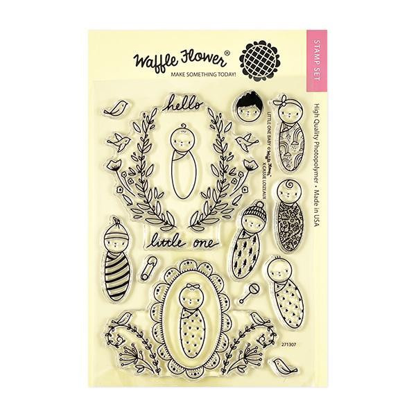 Little One Baby, Waffle Flower Clear Stamps - 644216791491