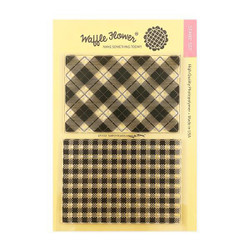 Simply Plaids, Waffle Flower Clear Stamps - 644216788996