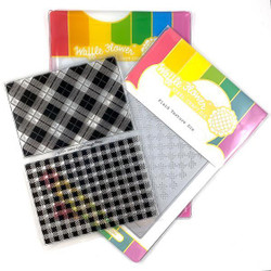 Simply Plaids, Waffle Flower Stamp & Die Combo - 644216790593