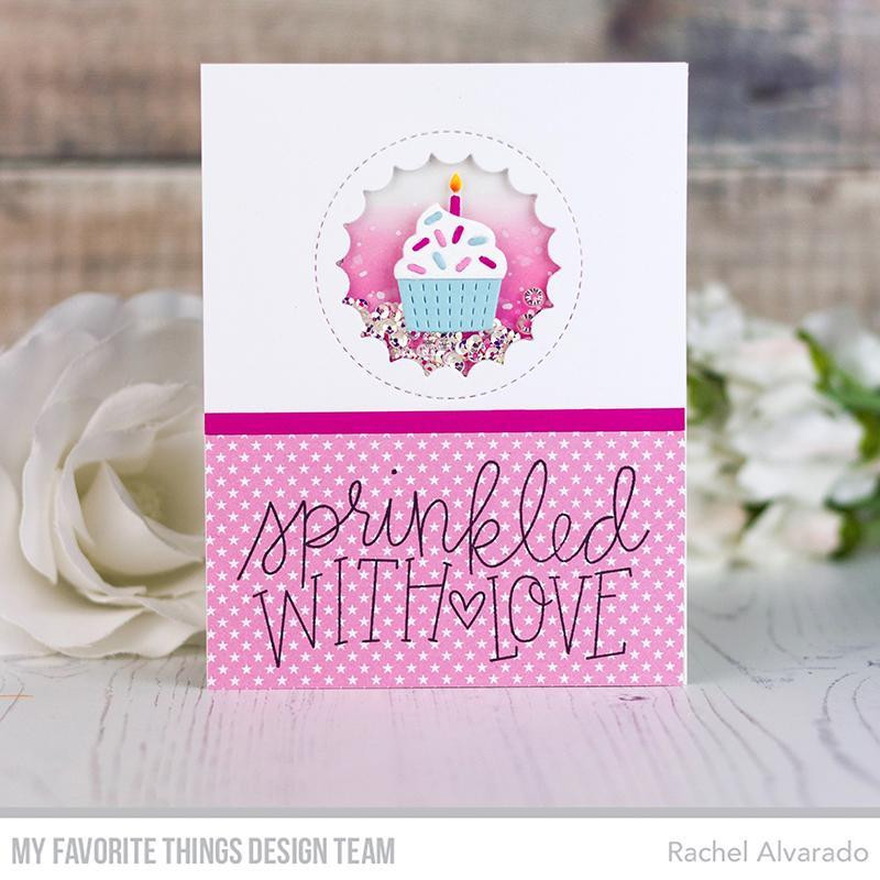 Sprinkled With Love, My Favorite Things Clear Stamps - 849923034330