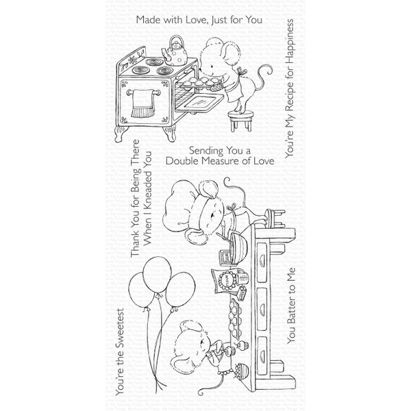 Sweet Shop by Stacey Yacula, My Favorite Things Clear Stamps - 849923034354