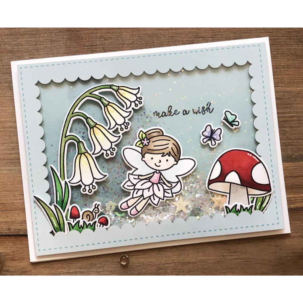 Fairy Happy, Avery Elle Clear Stamps - 811568028289