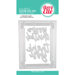 Invitation Frame, Avery Elle-ments Dies - 811568028562