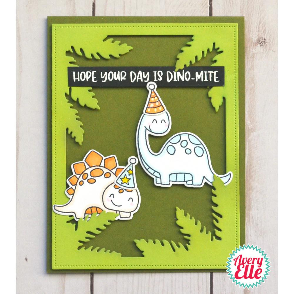 Rawr, Avery Elle Clear Stamps - 811568028388