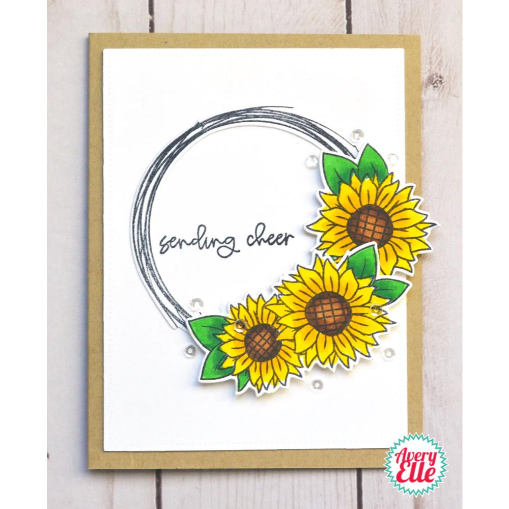 Sunflowers, Avery Elle-ments Dies - 811568028500