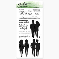 Pain in my Ass, Picket Fence Studios Clear Stamps - 745558003355