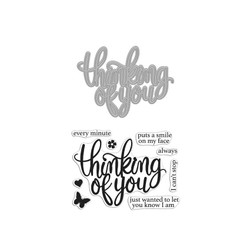 Thinking of You, Hero Arts Stamp & Cut - 857009247574