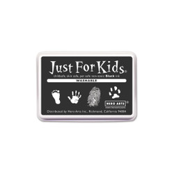 Washable Black, Hero Arts Just for Kids Ink Pad - 857009246034